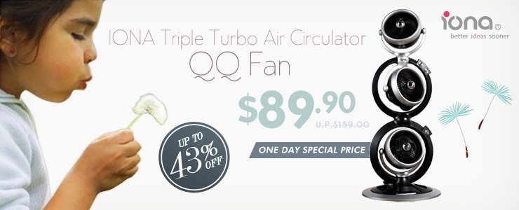 IONA Triple Turbo Air Circulator