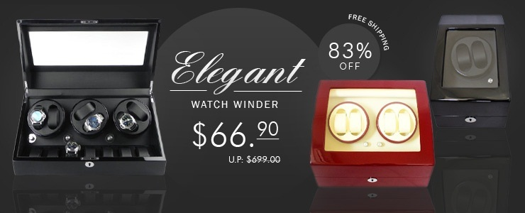 [TIME PARTNER] Elegant and Luxurious Watch Winder