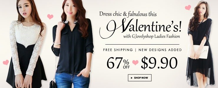 [G_lovelyshop] Bestseller Ladies Fashion! Free Shipping!