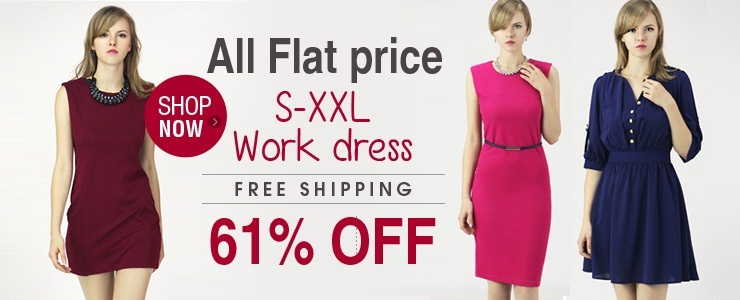 [all flat price work dress]