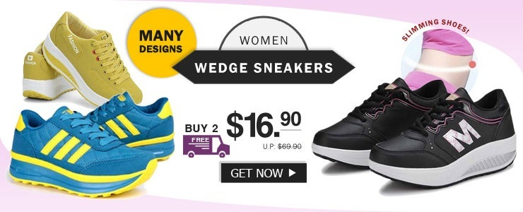 Wedge Heels Sneakers Shoes collection★Wedge Heels /Sneakers Shoe