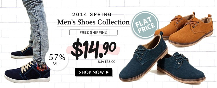 2014 spring shoes/men casual shoes/men fashion shoes