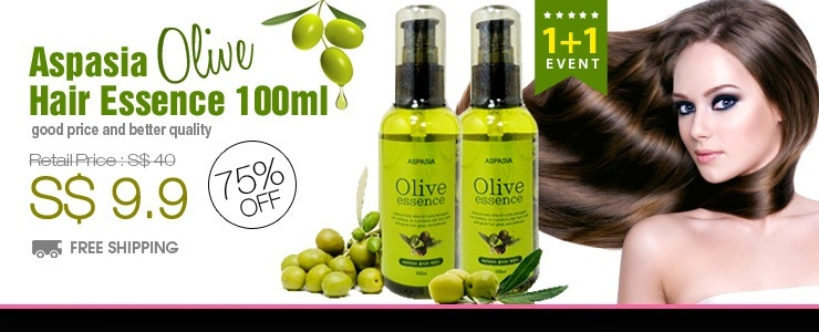 Get The Look - [Buy 1 Get 1 Free] Aspasia Olive Hair Essence 100ml $9.9