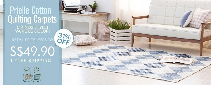 Prielle Cotton Quilting Carpets $39.90!