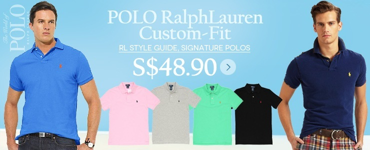 Polo Ralph Lauren Custom Fit shirts 6 Colors!