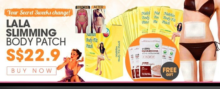 Get The Look -[Your Secret 3weeks change!]Lala Slimming Diet Body patch $22.9