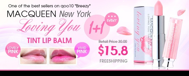 Get The Look - [MACQUEEN New York] Loving You Tint Lip Balm 1+1