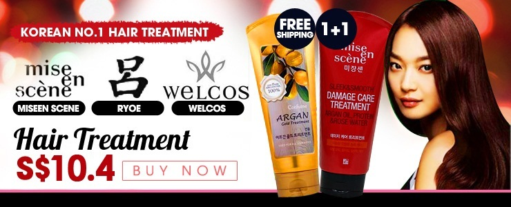 Get The Look - 1+1 Promotion★Korean Best Selling Hair Treatment★[Miseen scene] [Ryoe] Hair Treatment $8.99