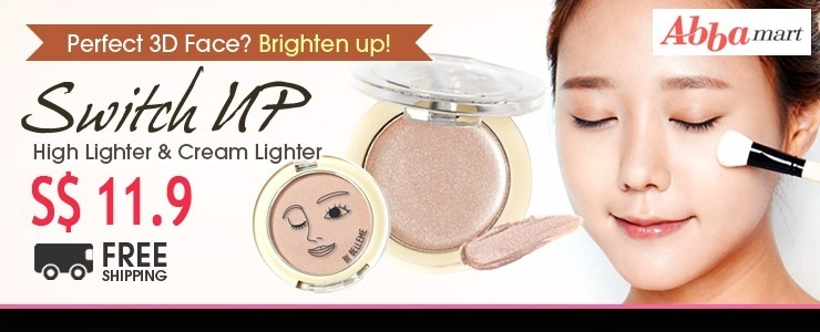 [Abbamart] Switch Up 3D Face! Highlighter & Cleamlighter / Brush