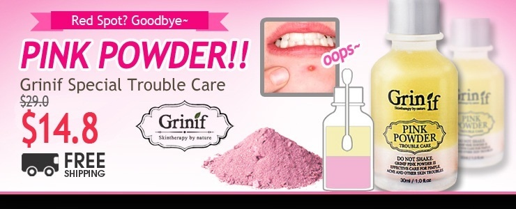 [Grinif] Skin Trouble?! Do not worry! Just Do PINK POWDER