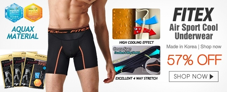 37th superday - FiteX Air Sport Cool Underwear