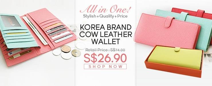 Gorgeous!!! Korea Brand Wallet!!