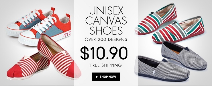 Best-Selling Unisex Canvas Shoes & Couple Shoes