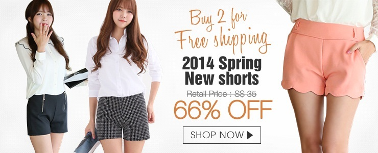 [buy 2 for free shipping] Korean shorts