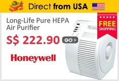 Honeywell Long-Life Pure HEPA  Air Purifier