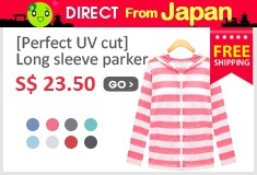 Perfect UV cut/ Long sleeve parker
