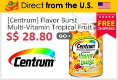 [Centrum] Flavor Burst Multi-Vitamin Tropical Fruit