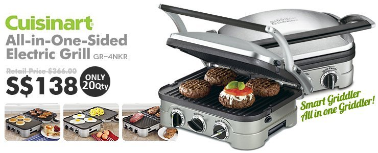 Cuisinart All in one sided Electric Grill
