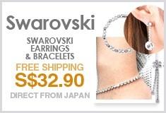 Swarovski Earrings & Bracelets