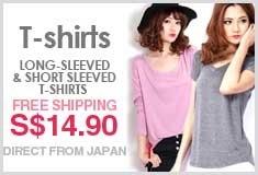 Long-sleeved & Short sleeved T-shirts