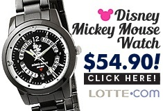 Disney Mickey Mouse watch 1308 Series