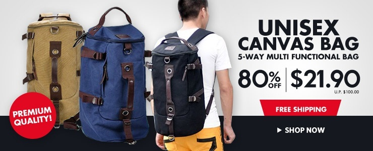 [ShopSmart] Local Delivery Bags Travel Portable Bags Essentials