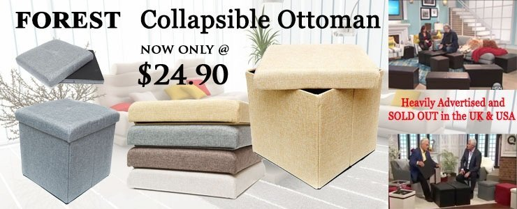 Collapsible Ottoman Promotion