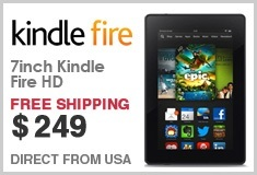 Kindle Fire HD 7inch Tablet HD Wi-Fi 8 GB with ADS