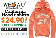 WHO.A.U California Hood t shirts