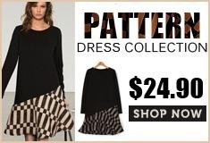 Pattern Print Dress $24.90