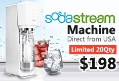 Direct From U.S ! Sodastream machine Sale!
