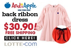 AndiApple back ribbon dress