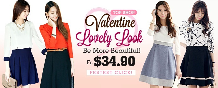 Valentine Lovely Dress $34.90~