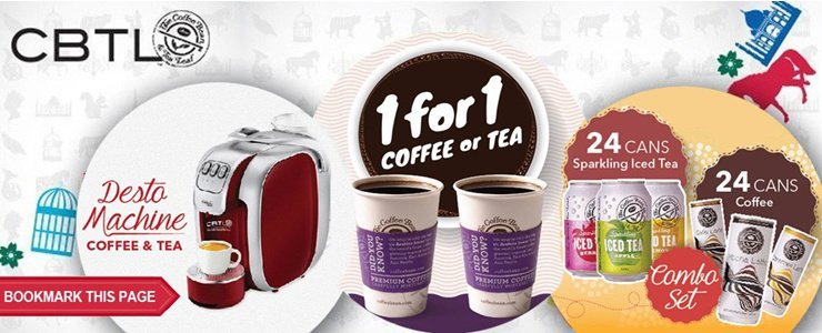 Coffee Bean Store Wide Promotion