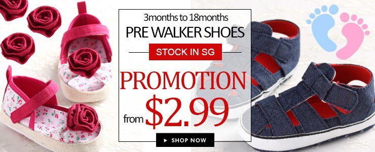 Pre walker shoes for 3m to 18m