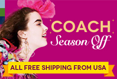 COACH Spring Season Off! All Free Shipping From USA!