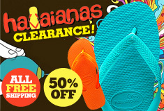 [Havaianas Clearance] Free Shipping &  50%OFF