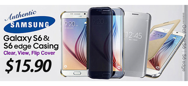 SAMSUSNG Galaxy S6 S-View Cover