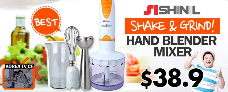 [SHINIL] Hand Blender Mixer $38.9