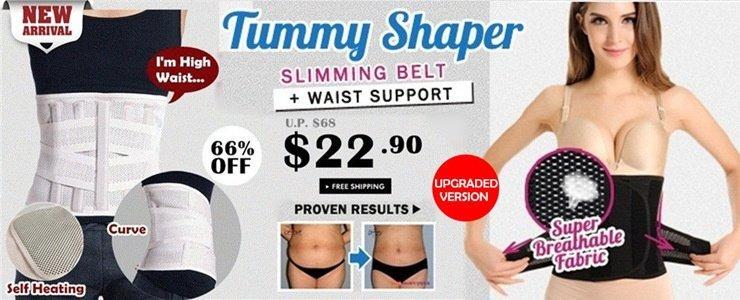 [UPGRADED VERSION] Tummy Shaper Slimming Belt