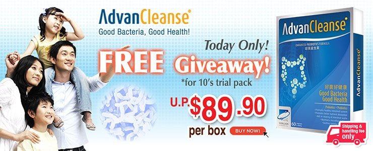 AVALON AdvanCleanse 10's Free Giveaway