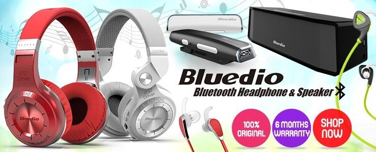 Bluedio Bluetooth Headphone