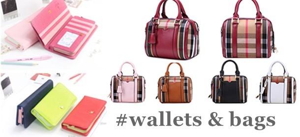 Women's Wallet and handbag/NaRaYa shoulder back ribbon bag Square bag travel business trip  Picnic