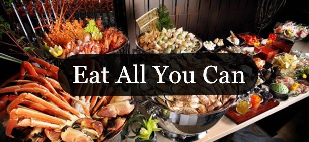 ALL-YOU-CAN-EAT Japanese Buffet from Sankai.Valid Daily at Bugis.Free flow of sashimi~Free flow of d