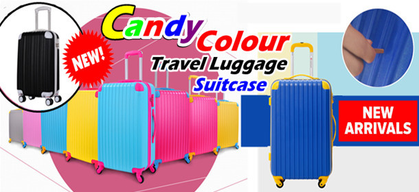 Candy Colour Luggage/Suitcase