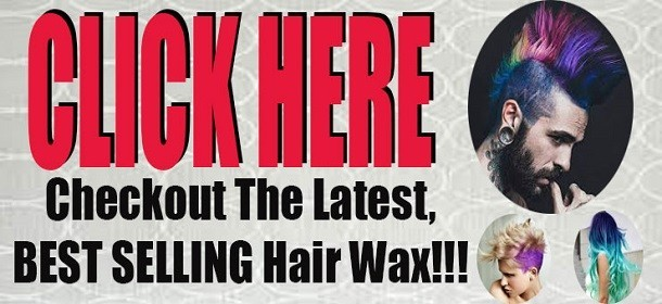 2017 Stylish Colour Hair Wax On Sale!