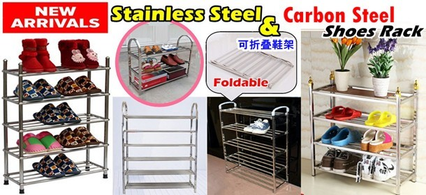 Stainless Steel & Carbon Steel Shoes Rack