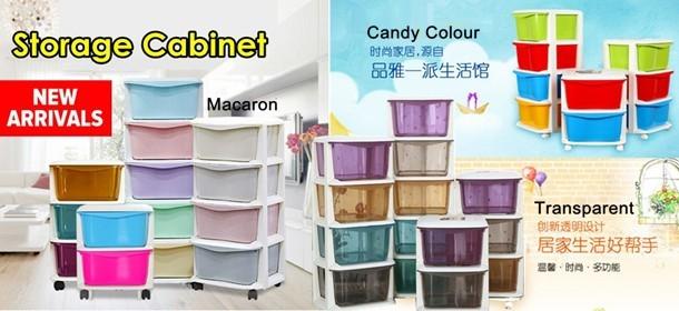 Colourful Storage Cabinet