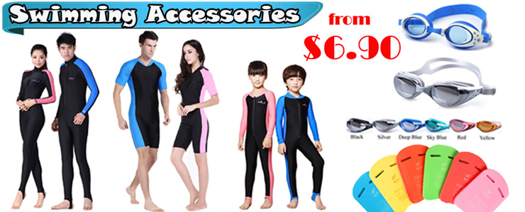 Swimming Suits / Goggles / Board