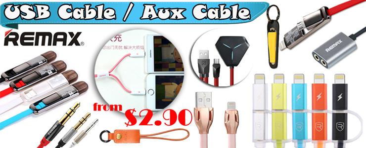 USB Cable / Aux Cable